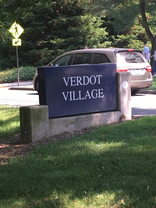 Verdot Village- can you tell we are in Wine County?